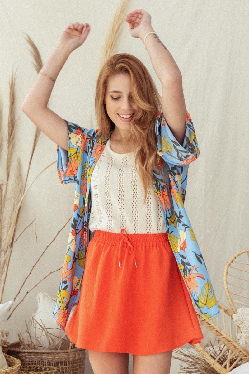Kimono Corto Gia