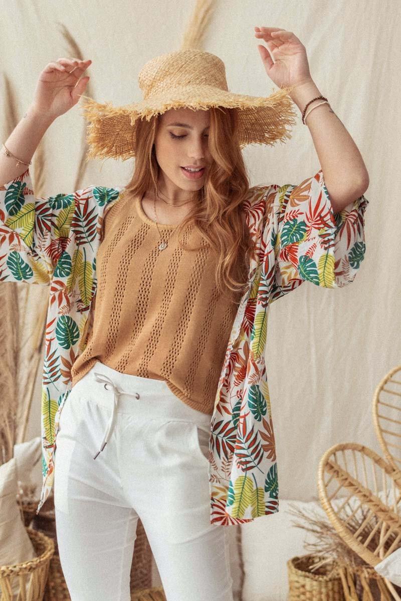 Kimono Corto Chequia