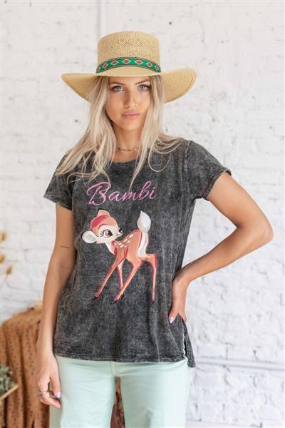 Remera Nevada Bambi Glitter
