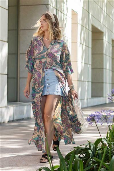 Kimono Largo Alejandra