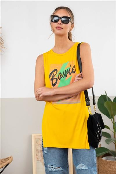 Musculosa Bowie Rayo