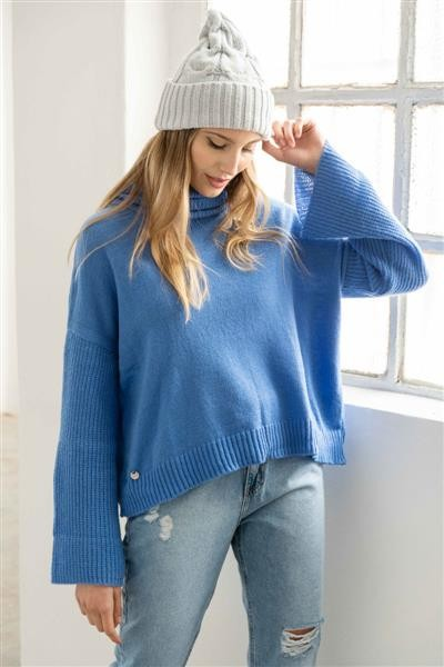 Sweater Poleron Gardenia